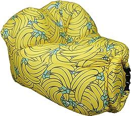 EooCoo Portable aufblasbare Sofa Stühle, Outdoor Air Sofa für Camping, Park, Strand, Hinterhof, Angeln, Schwimmen