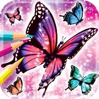 Schmetterling Malbuch