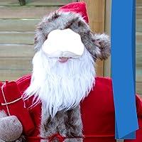 Weihnachtsmann-Kleid-Herausgeber