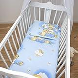 2 Piece Baby Children Quilt Duvet & Pillow Set 80x70 cm to fit Crib or Pram (4)