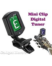 Gadget Hero's Digital LCD Display Automatic Clip-On Chromatic Guitar Bass Violin Ukulele Tuner