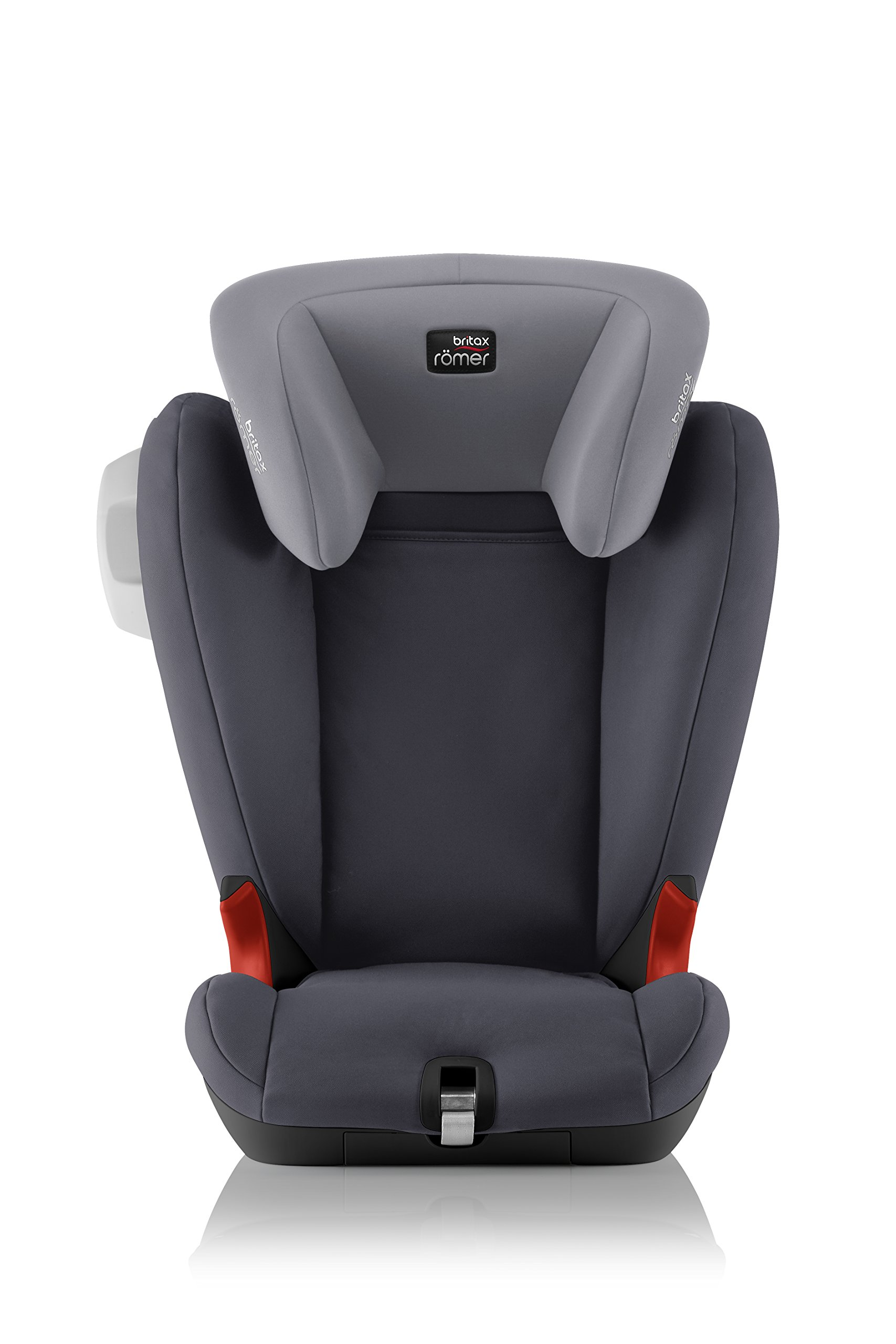 Britax Römer KIDFIX SL SICT BLACK SERIES Group 2-3 (15-36kg) Car Seat - Storm Grey Britax Römer Side impact protection - deep, softly padded side wings and sict technology, removable to use only on the side closest to the door Simple installation - soft-latch isofit system Misuse limiting design - intuitively positioned seat belt guides 2