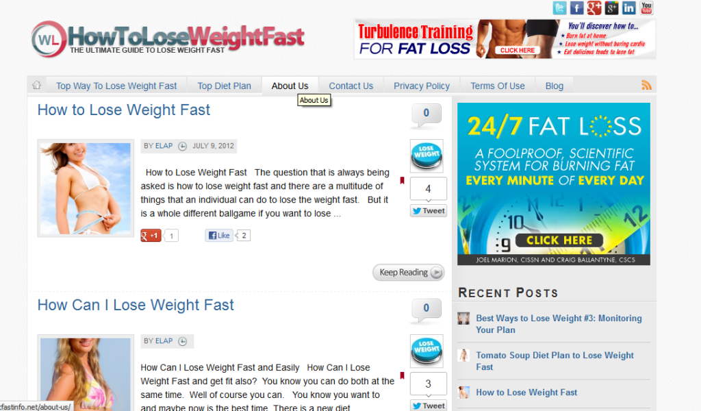 how to lose weight quickly uk