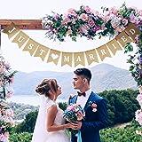 posizionabili in verticale tavolo colore bianco Lowercase Letters Lettere in legno naturale che formano la scritta Mr /& Mrs decorazioni per matrimonio eleganti graziose
