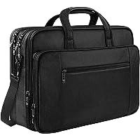 17 Zoll Laptop Tasche, Business Aktentasche für Männer Frauen Große wasserdichte Laptop Schulter Umhängetasche Für 17…