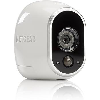 Arlo VMC3030-100EUS - Cámara de Seguridad y vigilancia IP 100% Libre de Cables con visión Diurna/Nocturna (cámara Adicional, Montaje en Interior y Exterior ...