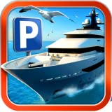 3D Boat Parking Simulator Game - Real Sailing Driving Test Run Marina Park Sim Games