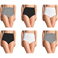 Pepperika Over The Bump Maternity Hygiene Panties/High Waist Maternity Panties Mom/Pregnancy Panties (Pack of 3) Size L