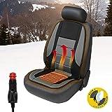 Walser 16792 Uppvärmd sittunderlag, bilbarnstol täcka Hot Stuff Uppvärmd Seat Cushion, Stolsvärme för bilar, lastbilar, bil,