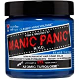 Manic Panic - Atomic Turquoise Classic Creme Vegan Cruelty Free Semi Permanent Hair Dye 118ml