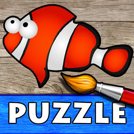 Oceano Puzzle E Disegni Da Colorare Per Bambini Giochi Con Gli