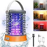 AMBOTHER Lampe Anti Moustique Electronique UV LED 2000V Efficace 60m² Répulsif Moustique Tueur Etanche IP66 Pièges à Insectes