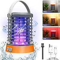 AMBOTHER Lampe Anti Moustique Electronique UV LED 2000V Efficace 60m² Répulsif Moustique Tueur Etanche IP66 Pièges à…