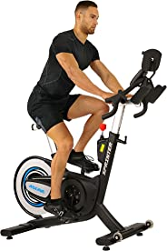 Sunny Health & Fitness Unisex Adult 6100 Asuna Sprinting Commercial Indoor Cycling Bike - Black, One Size