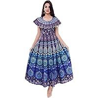 Dhruvi Women's A-Line Maxi Dress