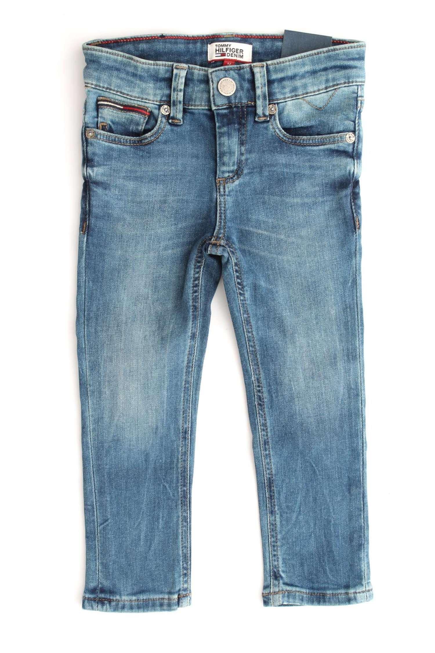 Tommy Hilfiger Scanton Slim Pmbstr Jeans para Niños