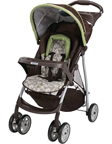 Graco Literider Click Connect Stroller, Zuba, Brown
