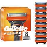 Gillette Fusion5 Razor Blades for Men, Pack of 8 Refill Blades (Suitable for Mailbox)