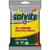Solvite All-Purpose Wallpaper Adhesive, Reliable Adhesive for Wallpaper, All-Purpose Adhesive with Long-Lasting Results…