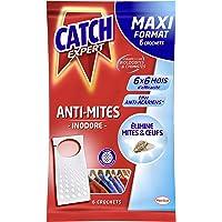 Catch Expert Mites – 6 Crochets (120g) – Anti-Mites Textiles – 6 mois de protection par crochet (6x6)