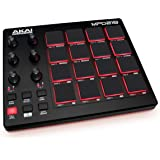 AKAI Professional MPD218 - Contrôleur USB MIDI avec 16 Pads Sensibles à la Vélocité type MPC, 6 potentiomètres Assignables, M