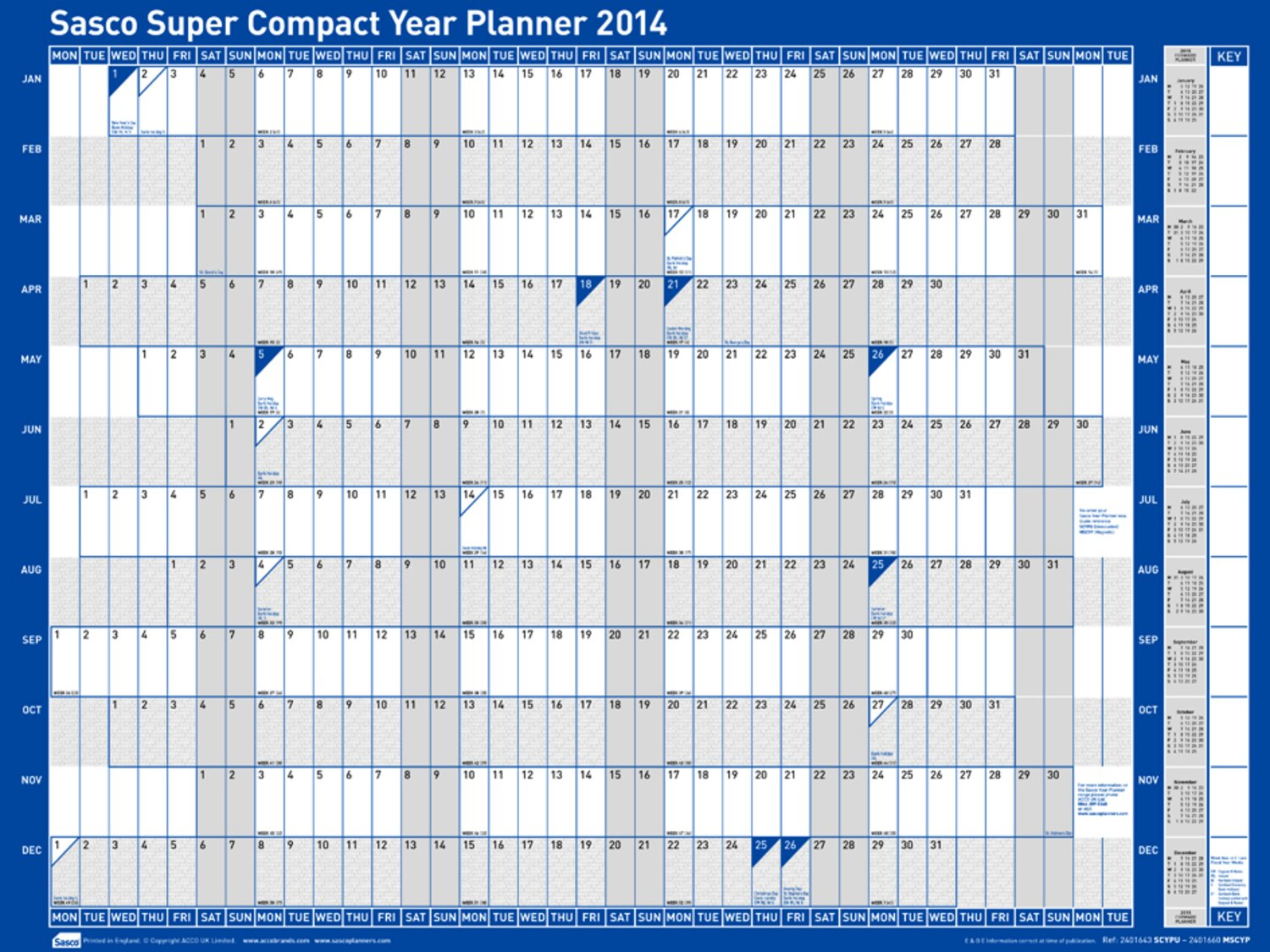electronic year planner