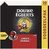 Douwe Egberts Koffiecups Lungo Original (200 Capsules, Geschikt voor Nespresso* Koffiemachines, Intensiteit 06/12, Medium Roa
