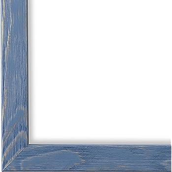 Bilderrahmen Weiss Retro Modern Holz Siena 2,0 NEU alle Größen