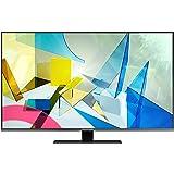 """Samsung TV QE50Q80TATXZT Smart TV 50"""", Serie Q80T QLED, 4K, Wi-Fi, Classe di Efficienza Energetica B, 2020, Titan Black"""