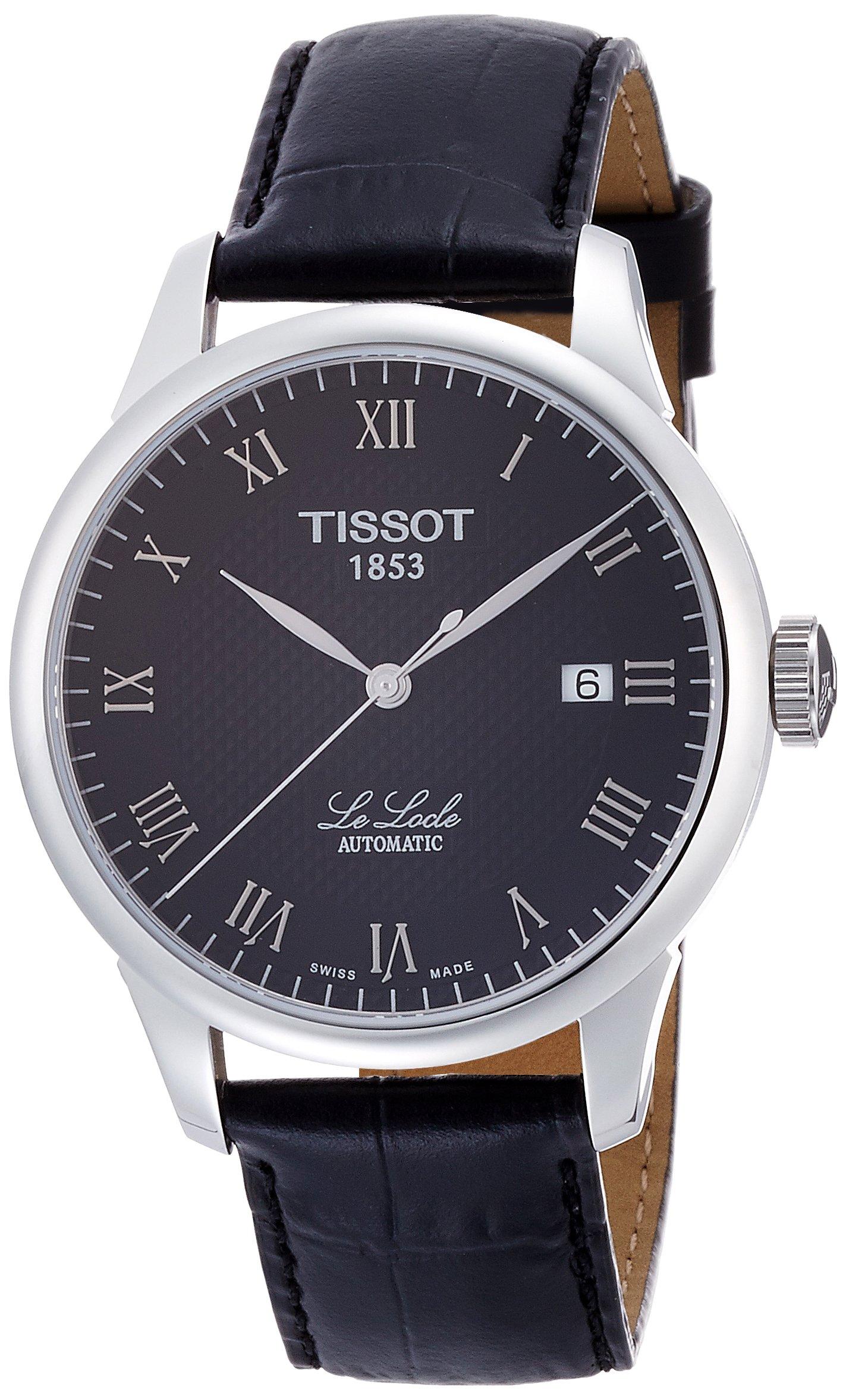 Tissot LE T41142353 – Reloj de caballero de cuarzo, correa de titanio color gris