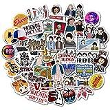 Etitulaire Autocollant Stranger Things 50 pcs Set, Stickers Graffiti Autocollant Stickers vinyles pour Ordinateur Portable/Bo