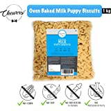 Chewers Oven Baked Milk Puppy Dog Biscuits, Calcium Rich Dog Treat 1 Kg