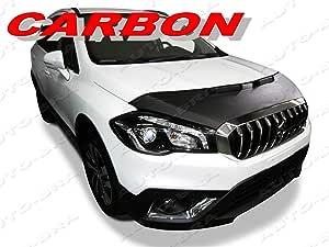 Ab3 00095 Carbon Optik Bra Sx4 S Cross 17 Haubenbra Steinschlagschutz Tuning Bonnet Bra Auto