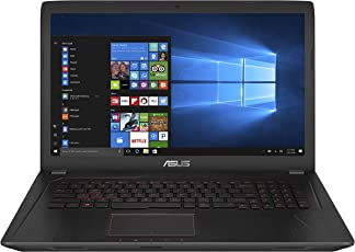 ASUS FX753VE (90NB0DN3-M02360) 43,9 cm (17,3 Zoll, FHD, Matt) Gaming (Intel Core i7-7700HQ, 16GB RAM, 256GB SSD, 1TB HDD, NVIDIA GTX1050Ti (4GB), Win 10) Schwarz