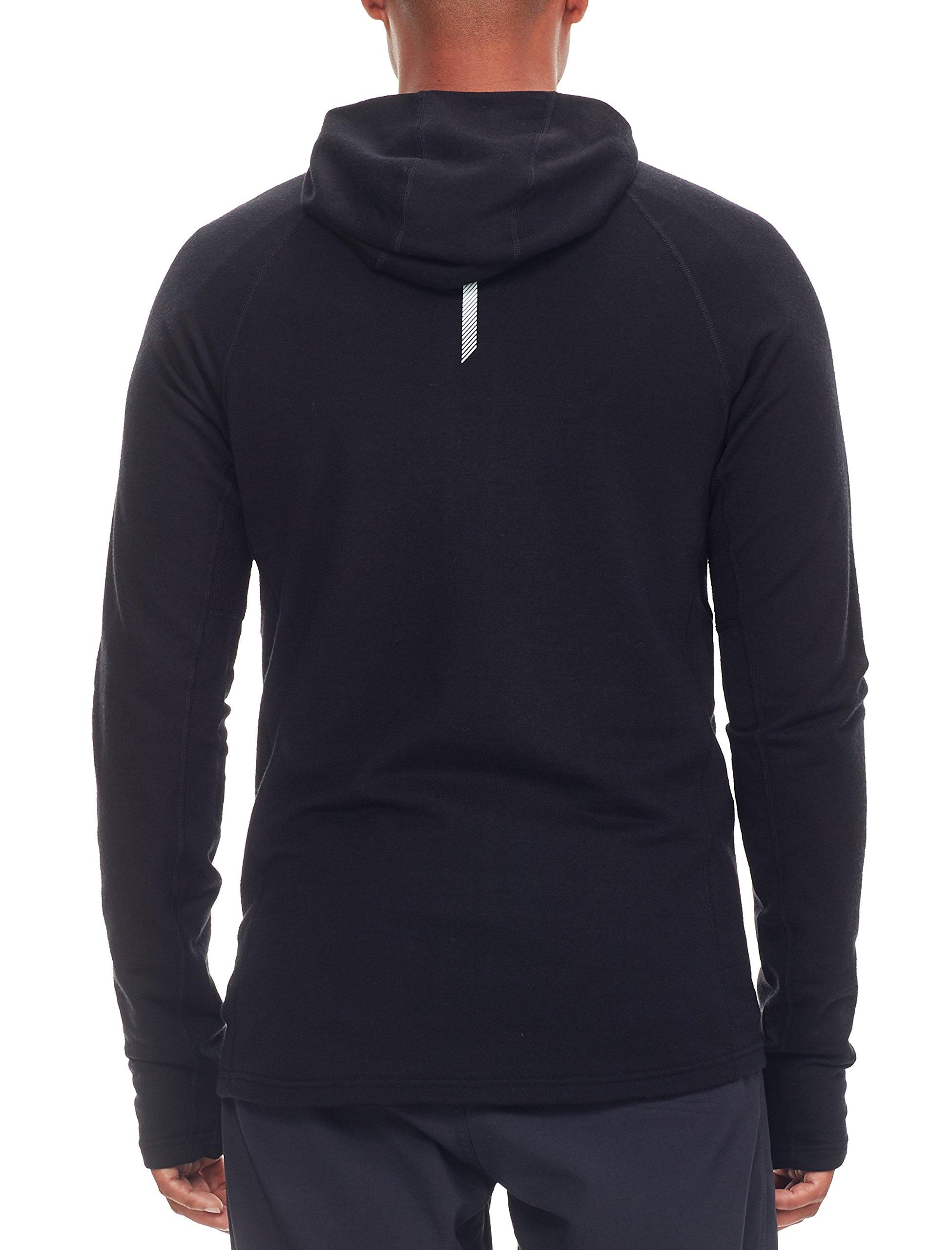 81kPevEpjQL - Icebreaker Men's Quantum Long Sleeve Zip Hood Cover Ups