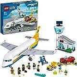 LEGO City Airport Aereo Passeggeri con Terminale e Camion, Playset per Bambini dai 6 Anni in poi, 60262