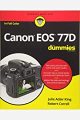 Canon EOS 77D For Dummies (For Dummies (Computer/Tech)) Paperback