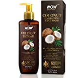 WOW Skin Science Coconut Hydrating Face Wash with Coconut Water, Aloe Leaf Extract - For Clarifying, Softening & Brightening