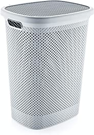 Hobby Life Laundry Basket Diamond Design (Grey)