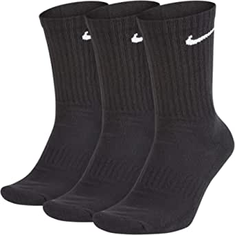 NIKE Men's U Nk Everyday Cush Crew 3pr Socks (pack of 3)