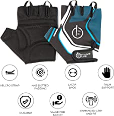 Fitup Life Gym Gloves with Adjustable Velcro Strap (Imported)