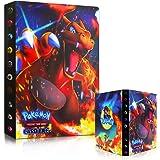 Sinwind Pokemon Album Classeur, Classeur pour Pokemon, Albums pour Cartes à Collectionner, GX EX boîte 30 Pages Peuvent Conte