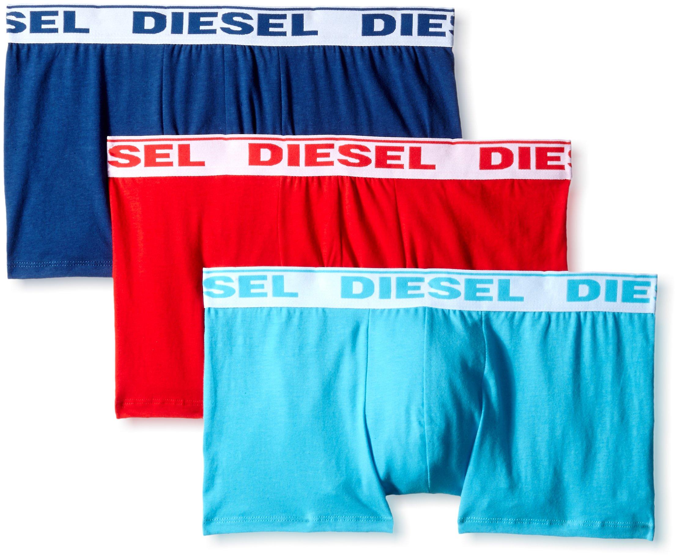 DIESEL - UMBX-SHAWNTHREE-PACK, Boxer Uomo, Multicolore (MULTICOLOR 13), S (Taglia Produttore: S)