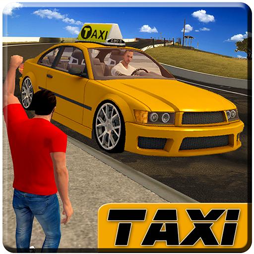 Stadt Taxi Treiber 2016: echt Taxi Simulator Spiele frei