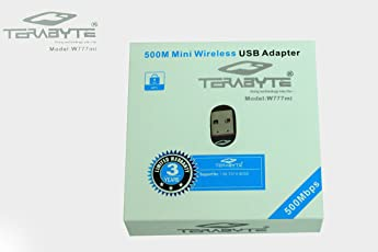 Terabyte Wi-Fi Receiver 500Mbps Network Adapter (Black)