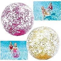 INTEX Ballon à paillettes glitter 51 cm