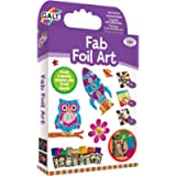 Galt Toys, Fab Foil Art, Craft Kit for Kids, Ages 6 Years Plus