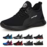 tqgold Safety Shoes Men Women S3 Industrial Non-Slip Work Shoes Steel Toe Caps Trainers