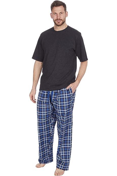 1 O 3 Unidades Conjunto De Pijamas Para Hombre De Manga Corta Y Pantalones Largos De Verano Ropa Hombre