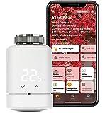 Eve Thermo - Smartes Heizkörperthermostat mit LED-Display, automatischer Temperatursteuerung, keine Bridge erforderlich, integriertes Touch-Bedienfeld, Bluetooth Low Energy, Apple HomeKit
